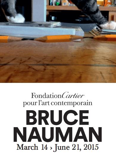 Bruce Nauman FOndation Cartier