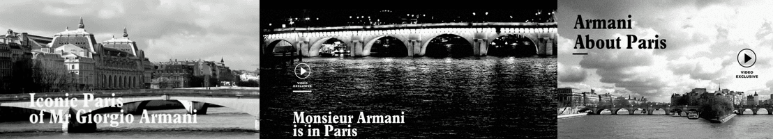 Armani and Paris