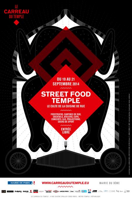 Street food temple