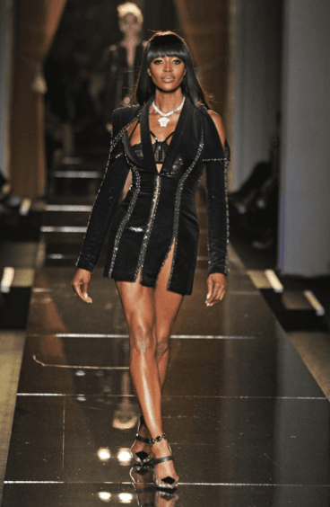 Naomi Campbell Versace