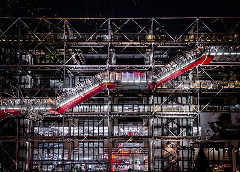 Centre Pompidou Paris - Sean X Liu via Visualhunt - CC BY-SA
