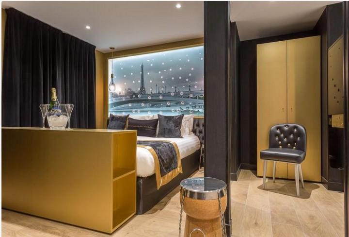 hotel suite champagne Nicolas Feuillate