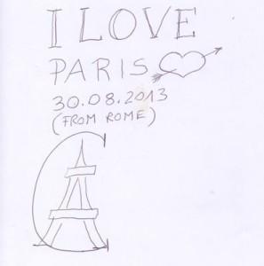 Guest Book Hotel Sezz Paris
