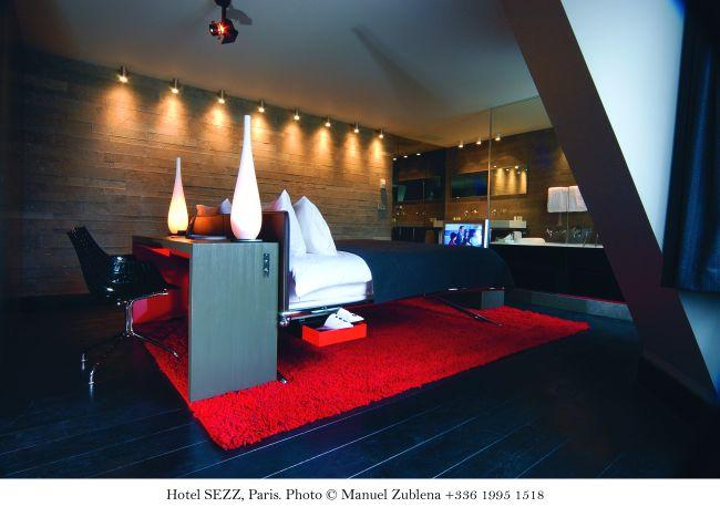 Luxury hotel suites Paris - Hotel Sezz - Eiffel Suite