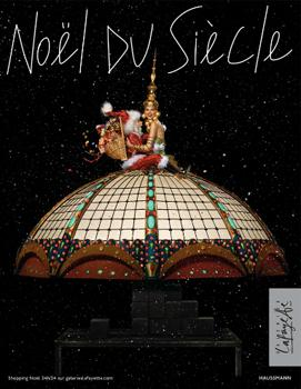 Noel à Paris, Galeries Lafayette