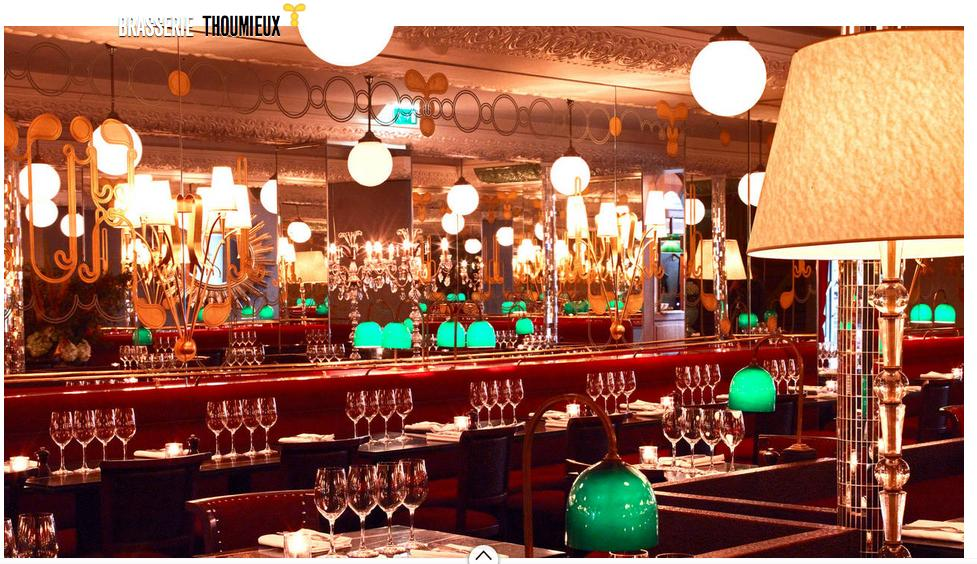 Brasserie Thoumieux Paris
