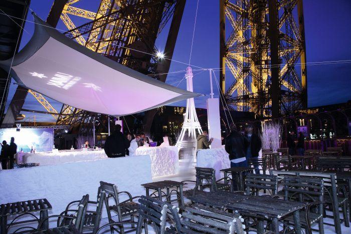 Tour Eiffel illuminée - Tourist Office Paris - Photographe Amélie Dupont