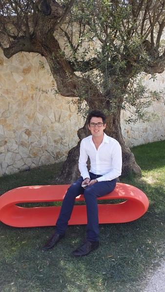 Johan Sainmont, Responsable Hébergement - Hotel Sezz Saint-Tropez