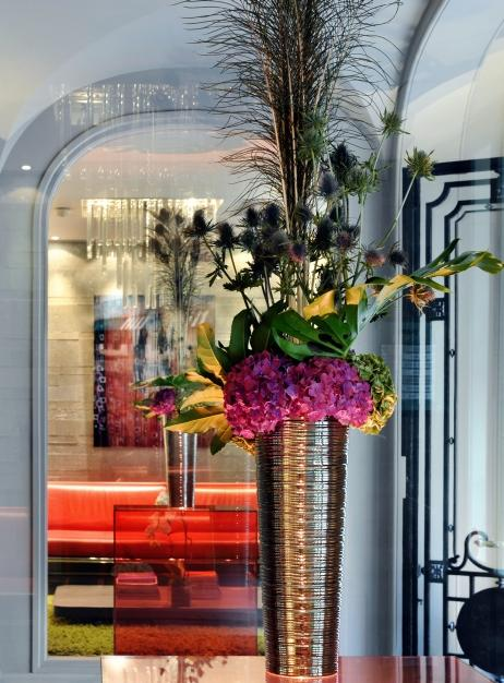Hotel SEZZ Paris - la reception