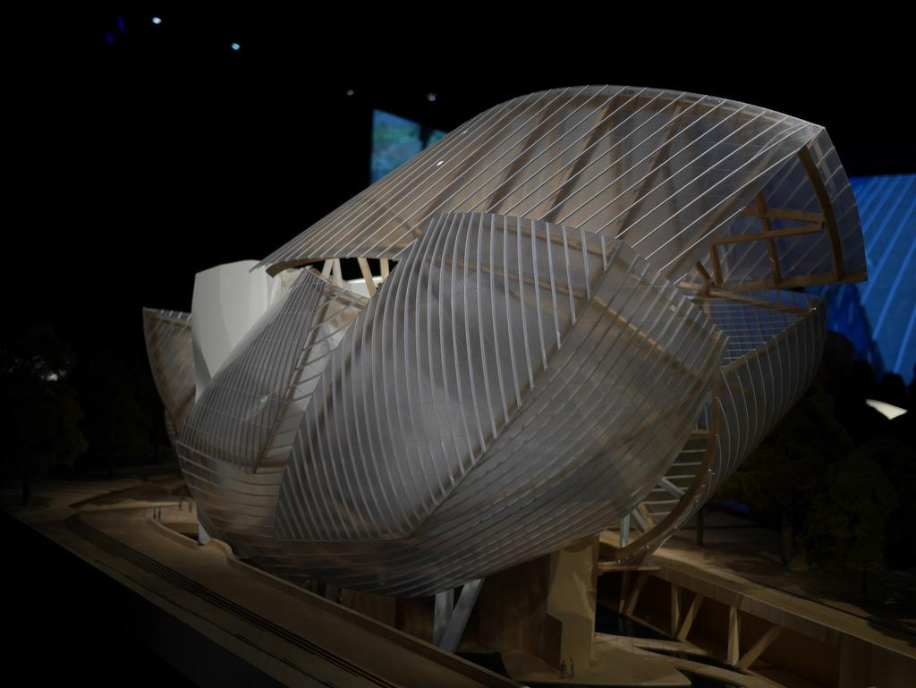 fondation louis vuitton maquette