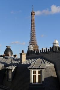 Eiffel Tower in Sezz Paris