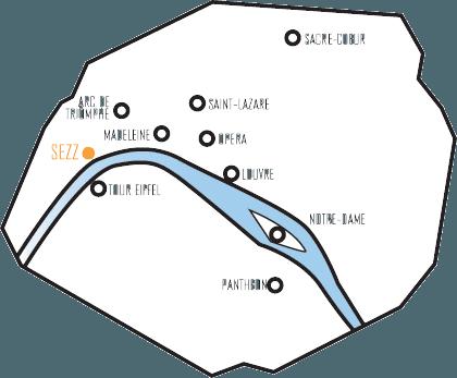 map-hotel-sezz-emplacement-stratégique