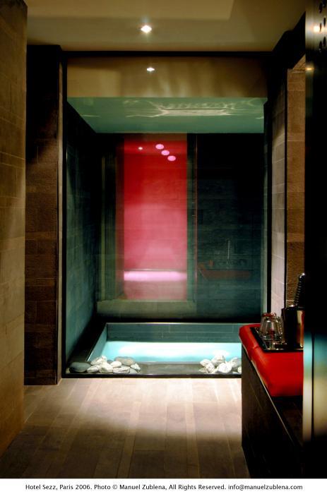 Amoureux - Spa de l'Hôtel SEZZ - Photographe Manuel Zublena