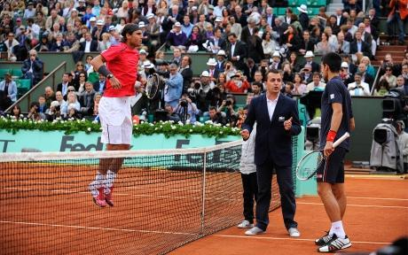 Roland Garros - Nadal and Djokovic - Photography French tennis federation