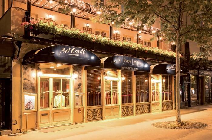 Fin d'année - Flash info Hotel Sezz - Restaurant Bel Canto - Devanture Quai de l'Hôtel de Ville