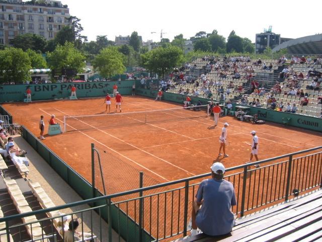 Roland Garros 2014 - Match de qualification à Roland Garros 2008 - Photographe Arnaud25 - Wikimedia