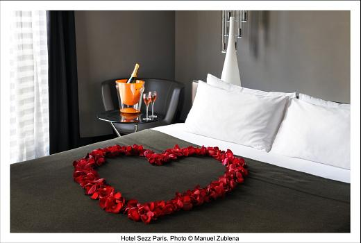 SEZZ'n Romance - Hotel SEZZ Paris - Photographe Manuel Zublena