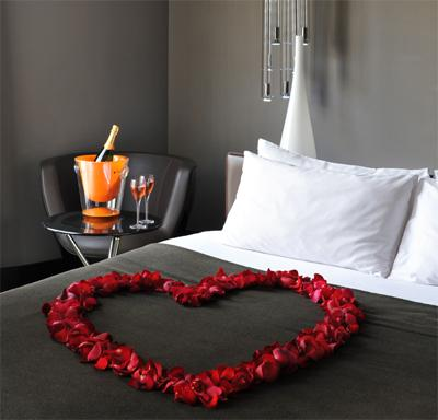 Saint Valentine's day at the Hotel Sezz Paris