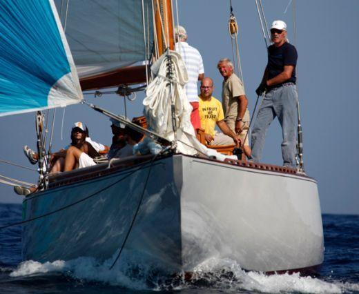 Saint Tropez sailing - Sailing boat Emilia 1930 -flickr.com - Photographer Jean-François Beausejour