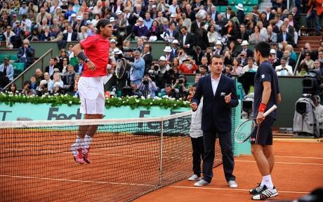 Roland Garros - Nadal Djokovic - court Philippe Chatrier - FFT