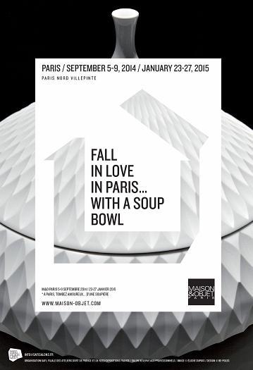 Next trade shows in Paris - Maison & Objet Paris - Picture © Elodie Dupuis, Design © BE-POLES